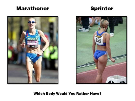 Marathon-Runner-vs.-Sprinter